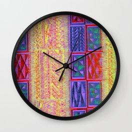 Fuzzy Wuzz Wall Clock