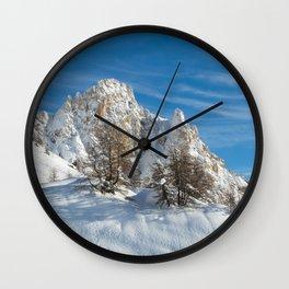 Alpine Mountain, Les Arcs Resort Wall Clock