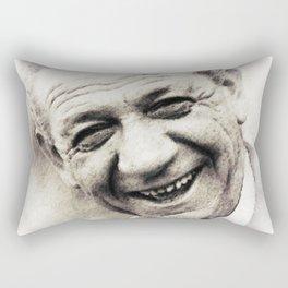 Sidney James, Carry On Actor Rectangular Pillow
