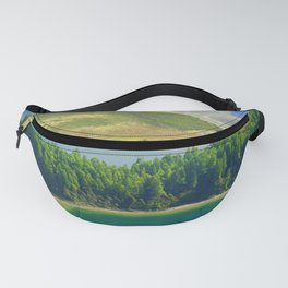 Colorful lake Fanny Pack