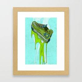 KD ZOMBIEFIED  Framed Art Print