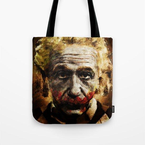 Einstein The Joker (Relatively Funny) Tote Bag