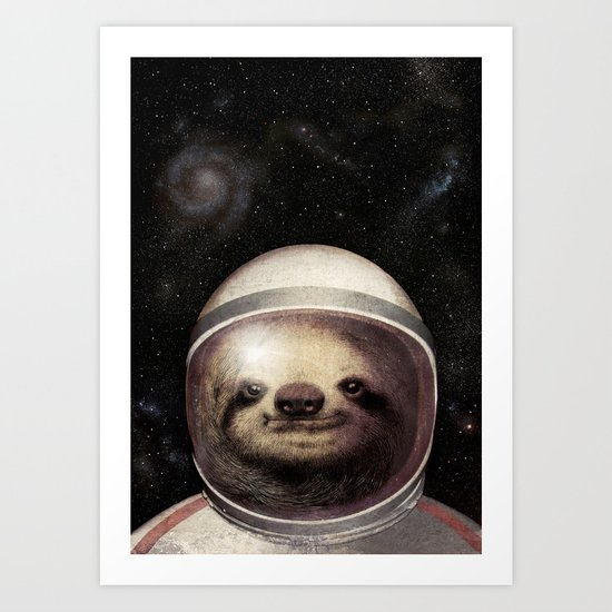 Space Sloth by opifan64