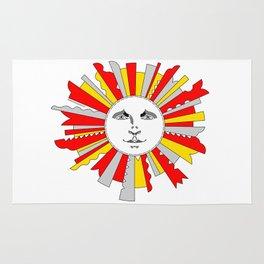 Space Sun Rug