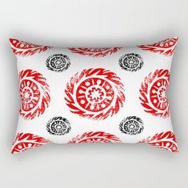 Sun mandala pattern Rectangular Pillow