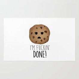 I'm Fuckin' Done! Rug