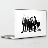 vegeta Laptop & iPad Skins featuring Reservoir Warriors by ddjvigo
