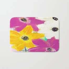 Every Day Floral Bath Mat