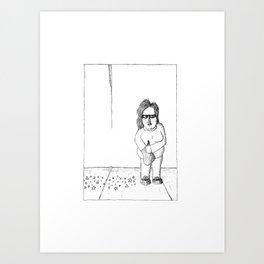 Glitter Litter Art Print