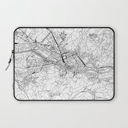 Florence White Map Laptop Sleeve