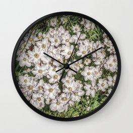JC FloralArt 01 Wall Clock