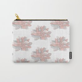 Pastel Water Lillies Carry-All Pouch