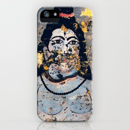 Hindu mural iPhone Case