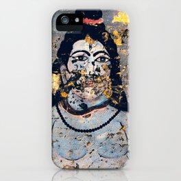 Hindu mural iPhone Case