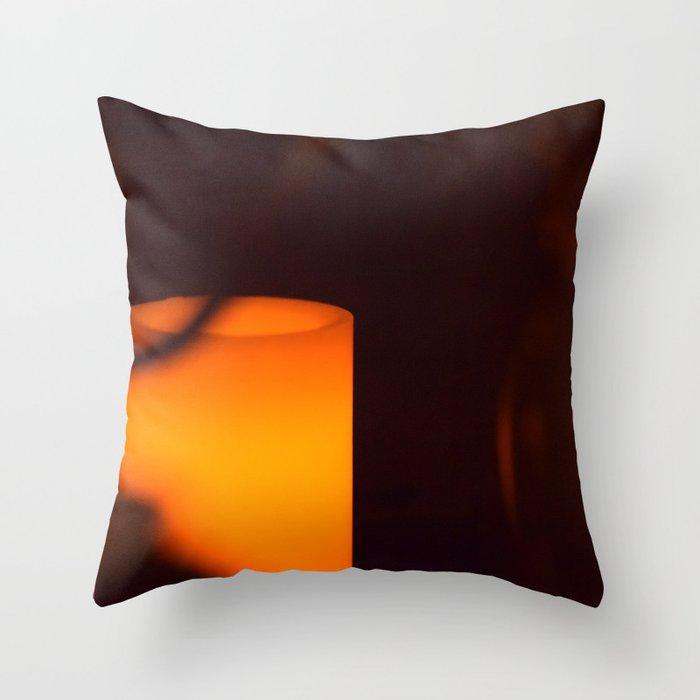 Red Light Throw Pillow
