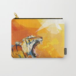 Tiger in the morning Carry-All Pouch