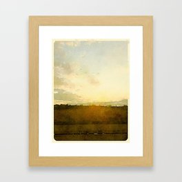 Wide Open Framed Art Print