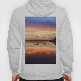 Sunset Symmetry Hoody