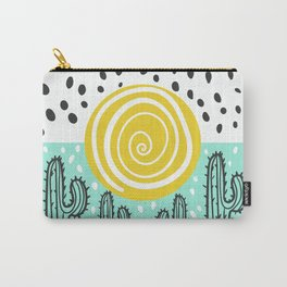 cactus sunset Carry-All Pouch
