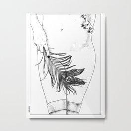 asc 346 - La plume de paon (Eve) Metal Print