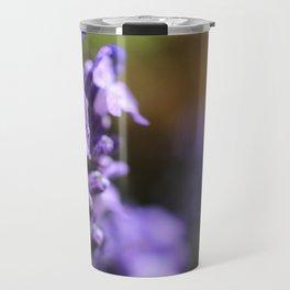 Lavender purple flower plant Travel Mug
