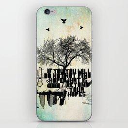 H.O.P.E iPhone Skin