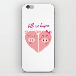 Love Pigs iPhone Skin
