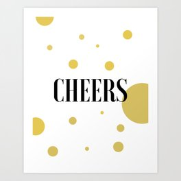 POP FIZZ CLINK Black And Gold Party Decorations Champagne Gift Champagne Quotes Cheers Sign Printabl Art Print