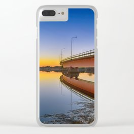 Reflections At Sundown Clear iPhone Case