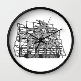 Portland Oregon Wall Clock