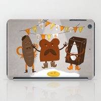 the breakfast club iPad Cases featuring Breakfast club by monrix