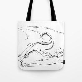 Fox Skull Tote Bag