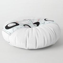 Let's Mix it Up Floor Pillow