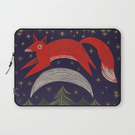 The Fox Jumped Over the Moon Laptop Sleeve