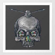 Dead Signal Art Print