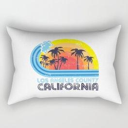 Los Angeles California Vintage Rectangular Pillow