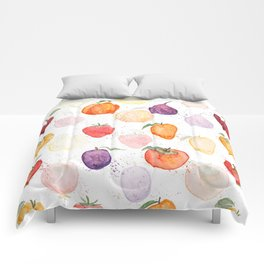 Fruit party Comforters