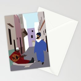 Melody in the alley  Stationery Cards