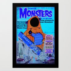 Urbnpop Famous Monsters Art Print