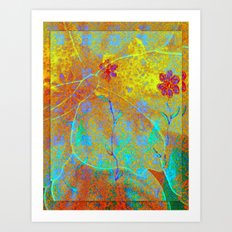 Magical Carpet Art Print
