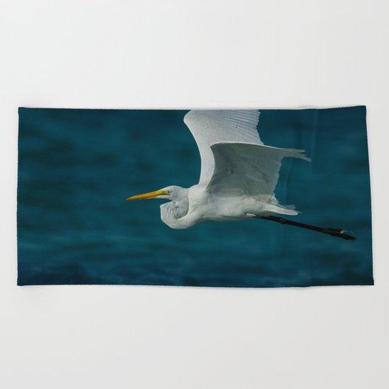 Bird sea Beach Towel