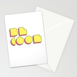 80s Be Cool Stationery Cards