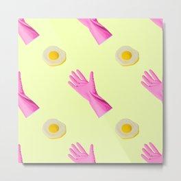 Pop Art Breakfast  Metal Print