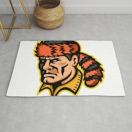 Davy Crockett Mascot Rug