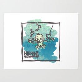 NIRFANA Art Print