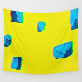 Yellow Vibes Wall Tapestry