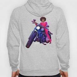 Biker Girl Hoody