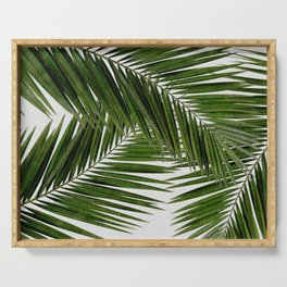 Palm Leaf III Serving Tray