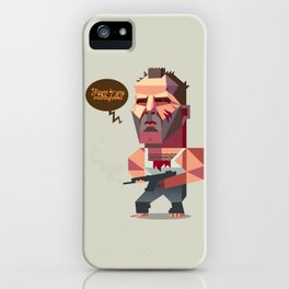 John McClane - Die Hard iPhone Case