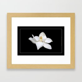"""""""Wake Up and Smell The Lilies"""" Minimalisticly Limitless HOME DECOR from Good Flow Design Framed Art Print"""
